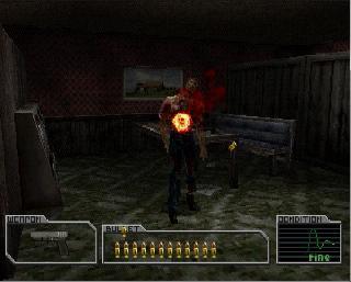 Screenshot Thumbnail / Media File 1 for Resident Evil Survivor [U]
